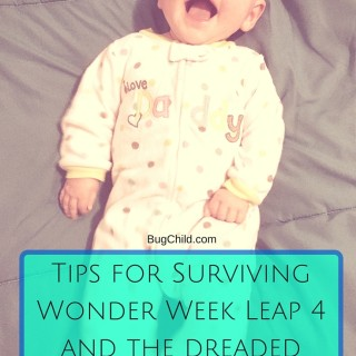 Surviving Wonder Week Leap 4 and Sleep Regression