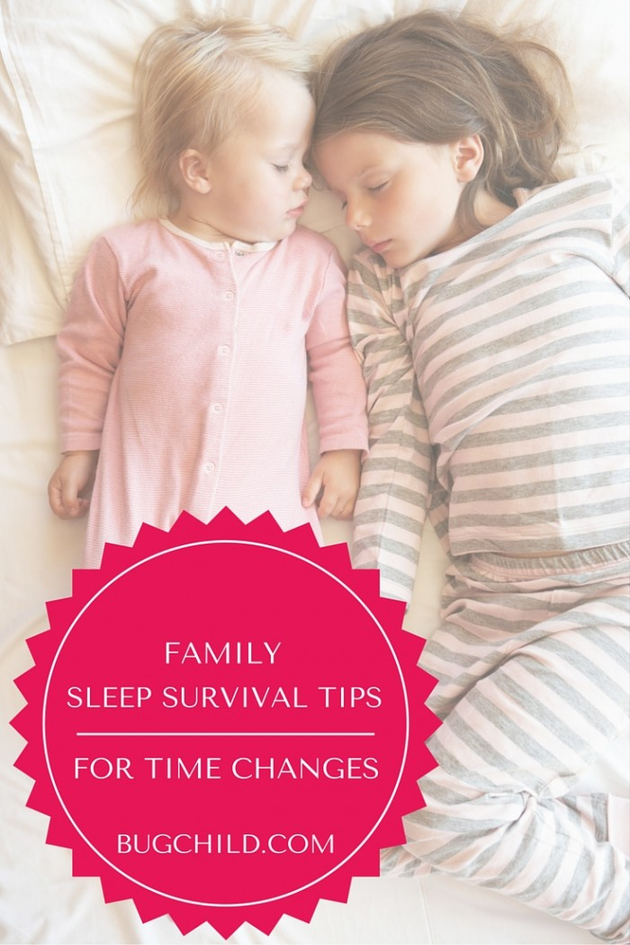 How to survive the time change when you have young children: advice from a certified sleep expert!